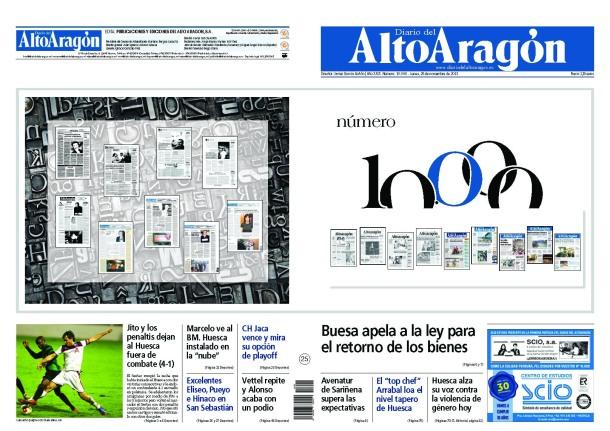 10.000 números de un diario
